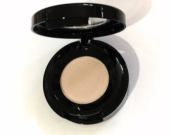 BARELY BISQUE Mineral Eye Shadow - Natural Makeup - Gluten Free Vegan Pressed Eye Shadow