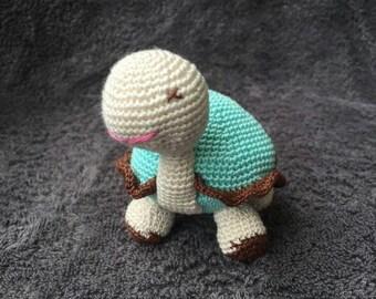 Turtle crochet 9cm