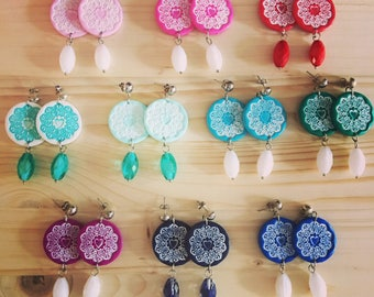 Coachella Style earrings-Outlet price