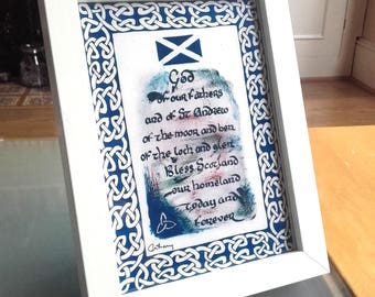 St Andrew's Day Prayer