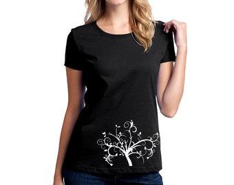 Daisy Flowers T-shirt Women Short Sleeve
