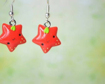 Kawaii Strawberry Stars