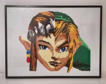 Zelda VS Link