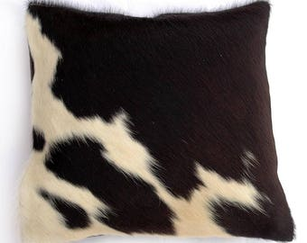 Natural Cowhide Luxurious Hair On Cushion/ Pillow Cover (15''x 15'') A29