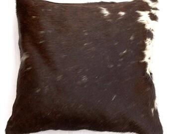 Natural Cowhide Luxurious Hair On Cushion/ Pillow Cover (15''x 15'') A113
