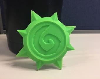 3D Printed Hearthstone Coin, 3D Printed Hearthstone, 3D Print, 3D Printed, Hearthstone, iPad, iPhone