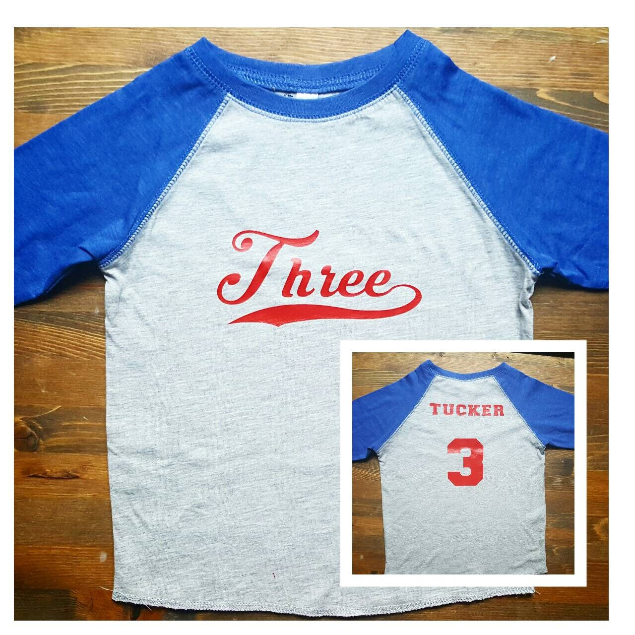 Boys 3rd Birthday Shirt