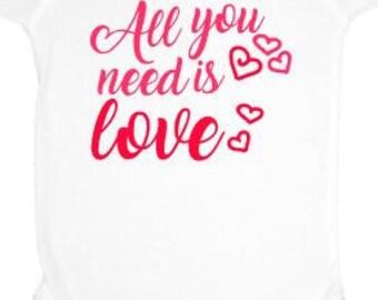 baby shirt, custom shirt, oneies, valentines