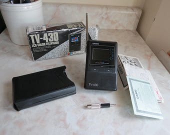 Case TV-430 LCD Color Television