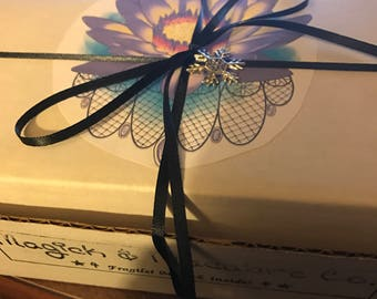 Witchy Mystery Box: Handmade goodies & magickal tools curated for you! Goth, Witch, Pagan, New Age, Holistic, Yule