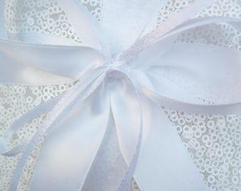 Wedding Ring Bearer Pillow - wedding ring bearer pillow-pillow for wedding- sequin wedding decor-ring pillow with sequins-Ring bearer pillow