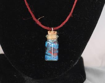 Blue Cork Bottle