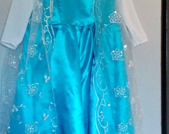 Costume, princess dress children €35