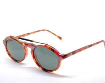 POLAROID aviator/gatsby acetate NEW VINTAGE sunglasses