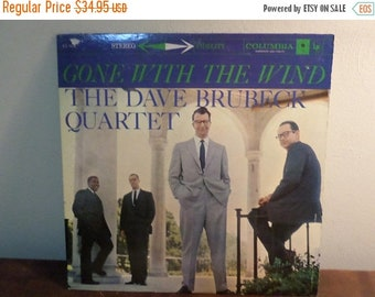 Save 30% Today Vintage 1959 Vinyl LP Record Gone With The Wind The Dave Brubeck Quartet Excellent Condition 6 Eye Label 15707