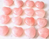 Rose Quartz Heart, Crystal for Healing, Love, Romance, and Happiness, Pink Mineral Specimen for Reiki, Yoga