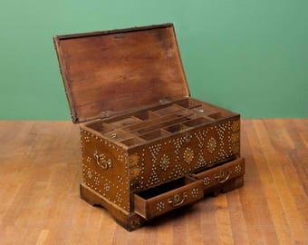Beautiful Studded Zanzibar Box