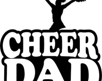 Cheer Dad Shirt/ Cheer Shirt/ Cheer Dad T Shirt/ Cheer Gifts/ Cheerleading Dad T Shirt/ Cheerleader Dad Shirt