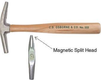 C.s. Osborne & Co. No.222 Balanced Magnetic Tack Hammer (mpn# 56012)