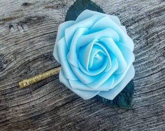Baby blue boutonnieres, baby blue rose boutonnieres, wedding boutonnieres, blue boutonnieres, blue wedding boutonnieres, blue rose wedding