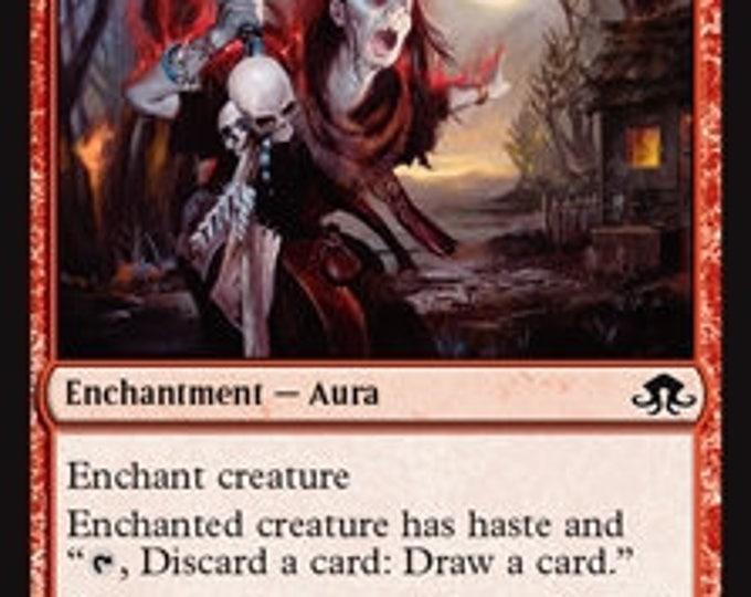 Borrowed Hostility - Instant - Eldritch Moon - Magic the Gathering
