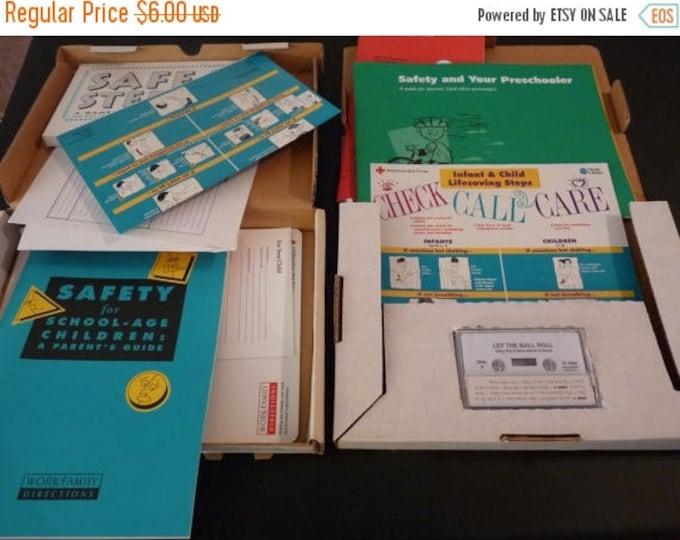 Retrocon Sale - Children's Safety Games and Books Lot