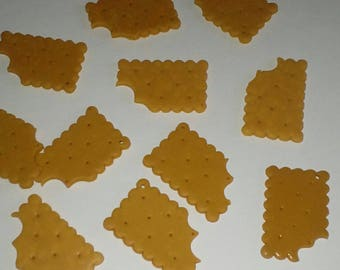 X 1 p cookie ' read little chewed fimo
