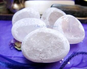 Clear Quartz Seer Stones Healing Crystals, Crystal Grid, Chakra Crystals
