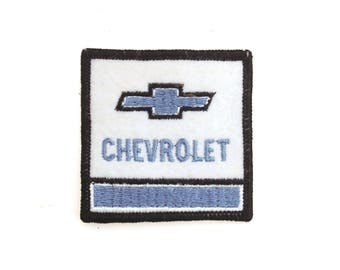 """Vintage Chevrolet Chevy Trucks Cars Embroidered Patch 2.5"""" x 2.5"""""""