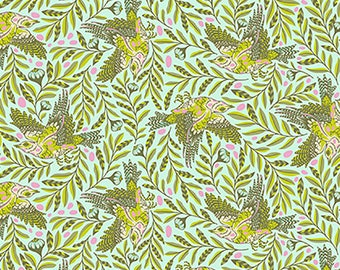 1/2 Yard - Spirit Animal - ReTweet - Starlet - Tula Pink - FreeSpirit - Fabric Yardage - PWTP099.STARL