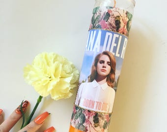 Lana Del Rey Born to Die In Paradise Candle