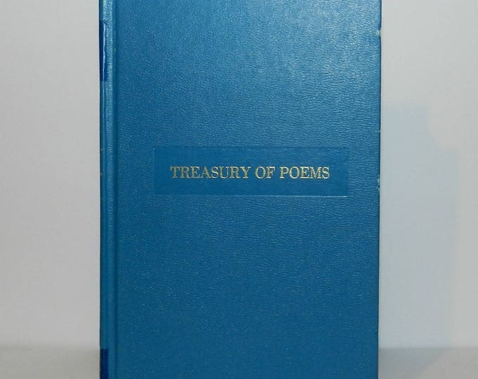 Best Loved Classics Treasury of Poems 1949 Hardcover