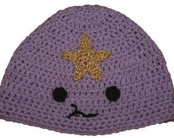 Hand Crocheted Lumpy Space Princess Hat HH 145