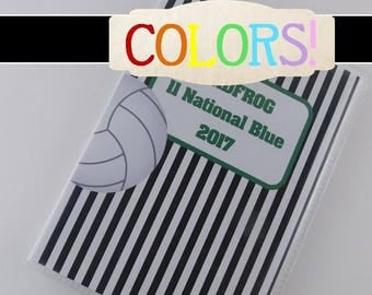 Volleyball Photo Album High school team sport picture book Personalized highschool junior volleyball team 5x7 or 4x6 picture album 073