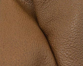 "Magical Nymph Brown Leather New Zealand Deer Hide 12"" x 12"" Pre-cut 3-4 ounces -15 DE-66124 (Sec. 6,Shelf 6,D)"