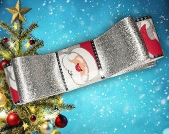 Santa Christmas Bow
