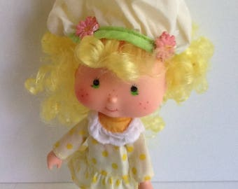 LEMON MERINGUE Original Vintage Strawberry Shortcake Doll