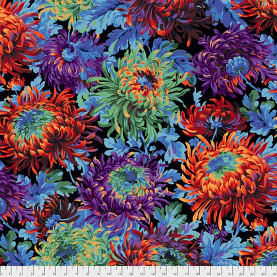 SHAGGY BLACK PWPJ072 Philip Jacobs Kaffe Fassett Collectives Sold in 1/2 yd increments