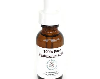 Hyaluronic Acid 100% Pure - No Fillers, Parabens or Chemicals