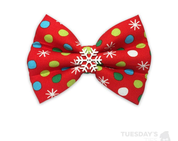 Funky Christmas Bow Tie