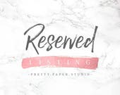 Reserved Listing for Claire