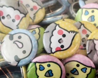 ItsABirbThing Bird Pins