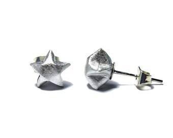 Lucky Star Earrings (Silver)