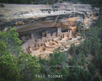 Mesa Verde Photo | Native American Art | Cliff Palace Photo | Cliff Palace Anasazi | Ancient Architecture | Ancient Puebloan Art | Colorado