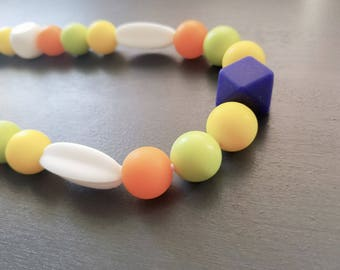 Teething Necklace - Jewelry - Rainbow