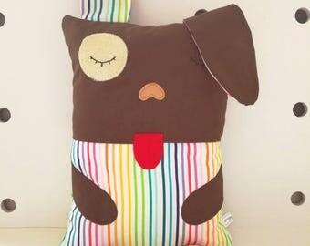 Puppy - Dog Cuddle Buddy - Baby pillow / cushion - Toddler pillow / cushion - cute animal