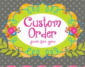 Order for Ellie Weiss