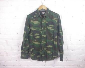 Vintage J Crew camo shirt jcrew button up