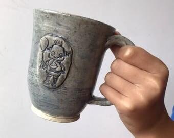 Ceramic Robot Mug