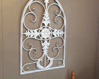 Attirant Vintage Wrought Iron Wall Art~Metal Wall Decor~Farmhouse